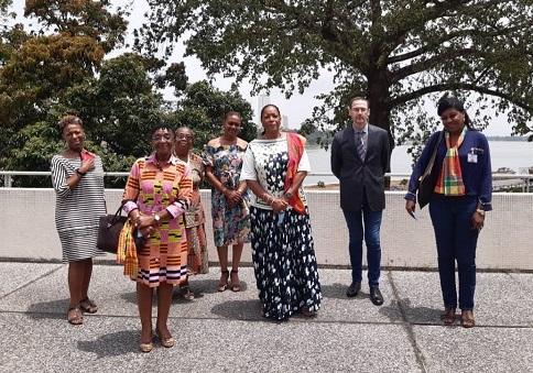 Le consul général échange avec l'Association des Antillais et Guyanais de Côte d'Ivoire – 1er mars 2021 - JPEG